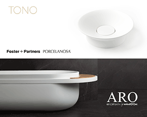porcelanosa grupous firm systempool evolves in order to offer the most avantgarde shower columns among others
